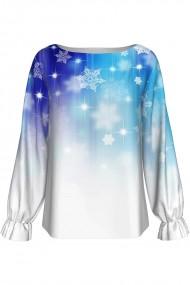 Bluza imprimata digital Snow A842C14