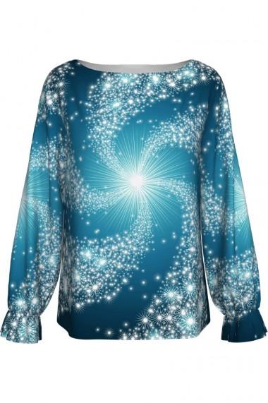 Bluza imprimata digital Sparkling A842C17