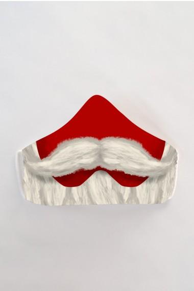 Masca faÈ›a reutilizabila imprimata din material textil MSC109