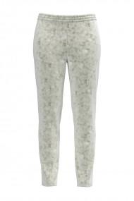 Pantaloni gri din catifea cu buzunare CMD440
