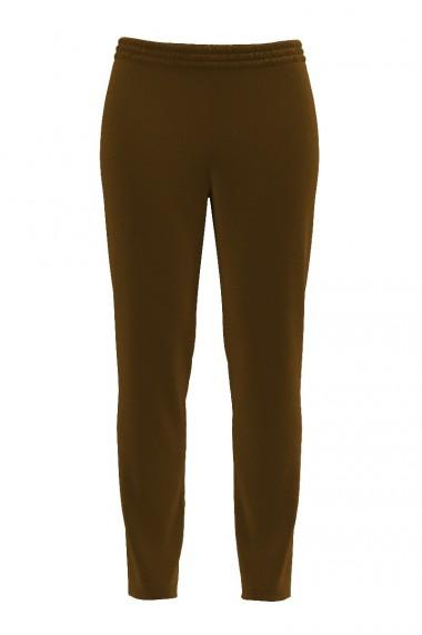 Pantaloni kaki din catifea cu buzunare CMD460