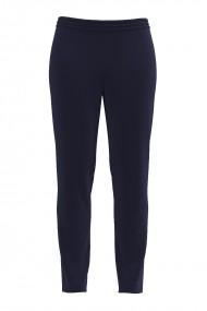 Pantaloni bleumarin din catifea cu buzunare CMD487