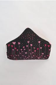 Masca faÈ›a reutilizabila imprimata din material textil MSC117