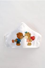 Masca faÈ›a reutilizabila imprimata din material textil MSC126