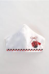 Masca faÈ›a reutilizabila imprimata din material textil MSC128