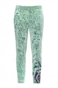 Pantaloni vernil din catifea cu buzunare CMD497