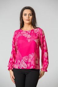 Bluza imprimata digital Pink A842I31