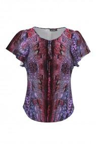 Bluza multicolora imprimata digital CMD638