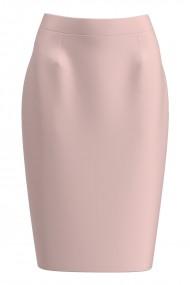 Fusta conica roz imprimata digital CMD1180