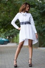 Rochie InnaB 368 alb