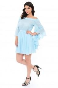 Rochie InnaB 9473 albastru