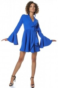 Rochie InnaB 522 albastru