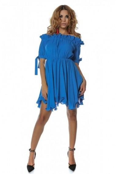 Rochie InnaB 352 albastru
