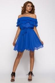 Rochie InnaB 323 albastru