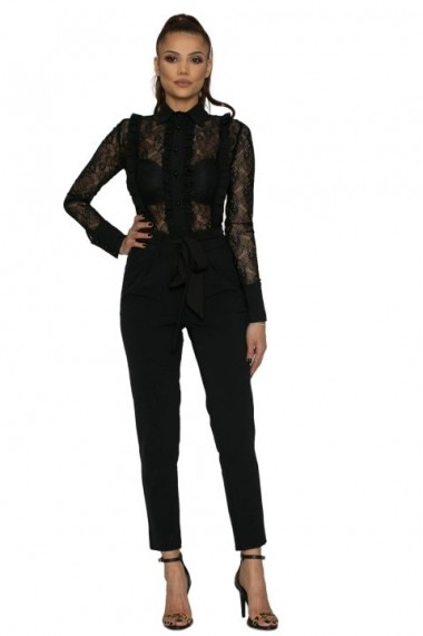Pantaloni InnaB 500 negru