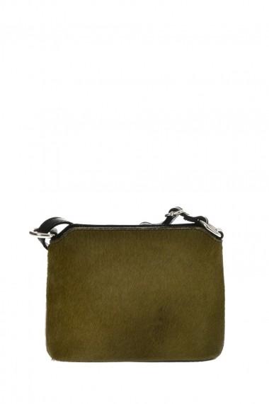 Geanta din piele Promesse PR6219 Verde