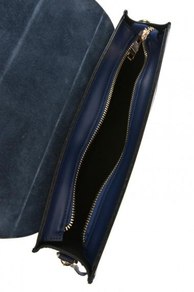 Geanta din piele Promesse PR6229 Albastru