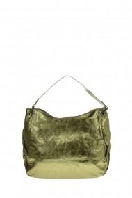 Geanta din piele Promesse PR6305 Verde