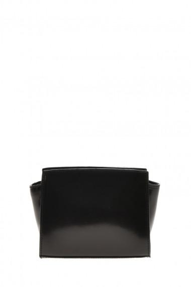 Geanta din piele Promesse PR6324 Negru