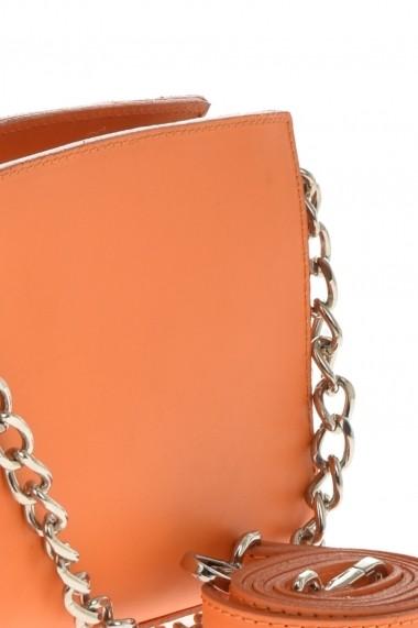 Geanta din piele Promesse PR6360 Portocaliu
