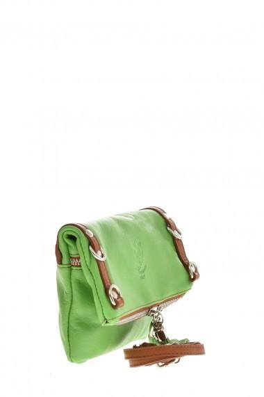 Geanta din piele Promesse PR6379 Verde