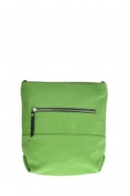 Geanta din piele Promesse PR6382 Verde