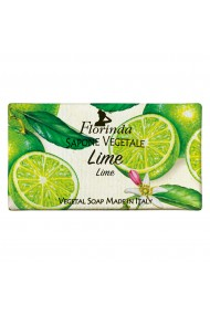 Sapun vegetal cu lime Florinda 100 g La Dispensa