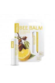 Balsam de buze natural cu lamaie si proteina din lapte Biobaza 4 5 g