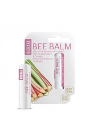 Balsam de buze natural anti ageing cu aloe rubarba si colagen Biobaza 4 5 g