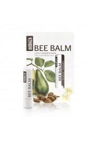 Balsam de buze natural cu unt de shea si avocado Biobaza 4 5 g