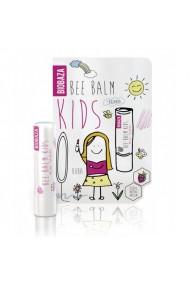 Balsam natural de buze pentru copii cu zmeura Biobaza 4 5 g