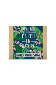 Sapun natural solid cu arbore de ceai Faith in Nature 100 gr