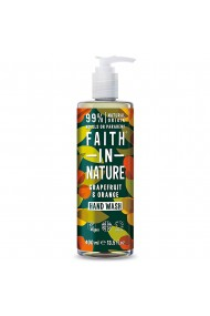 Sapun lichid natural cu grapefruit si portocala Faith in Nature 400 ml