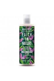 Balsam natural nutritiv cu Lavanda si muscata pentru par normal si uscat Faith in Nature 400ml