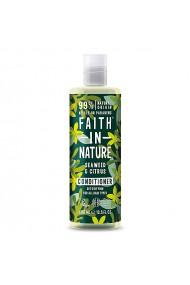 Balsam natural detoxifiant cu alge marine si citrice pentru toate tipurile de par Faith in Nature 400 ml