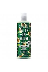 Balsam natural hidratant cu Avocado pentru toate tipurile de par Faith in Nature 400ml