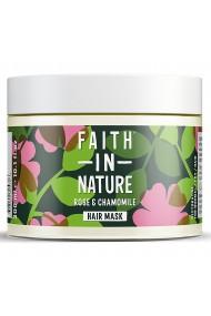 Masca naturala reparatoare trandafir salbatic si musetel pentru toate tipurile de par Faith in Nature 300ml