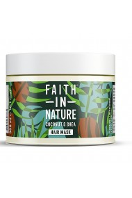 Masca naturala nutritiva cu cocos si unt de shea pentru par uscat Faith in Nature 300ml