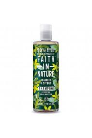 Sampon natural detoxifiant cu alge marine si citrice pentru toate tipurile de par 400 ml