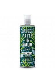 Sampon natural echilibrant cu rozmarin pentru par normal sau gras Faith in Nature 400 ml