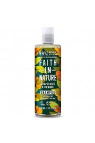 Sampon natural revigorant cu grapefruit si portocale pentru par normal sau gras Faith in Nature 400 ml