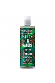 Sampon natural nutritiv cu Aloe Vera pentru toate tipurile de par Faith in Nature 400ml