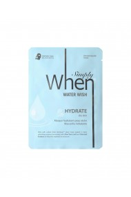 Masca coreana hidratanta pentru ten uscat Water Wish 23 ml Simply When