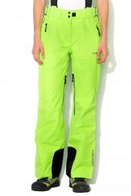 Pantaloni ski femei head pro w countdown verde
