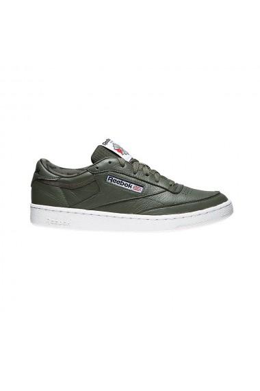 Pantofi sport barbati reebok club c 85 so verde