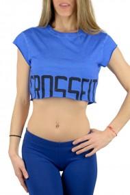 Tricou sport femei reebok crossfit tee albastru