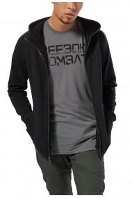 Hanorac barbati reebok combat hoodie fz negru