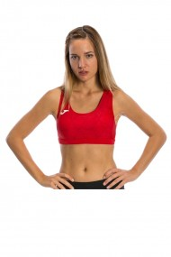 Bustiera sport femei joma olimpia rosu