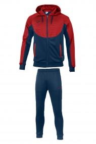 Trening copii joma hoodie essential bleumarin rosu