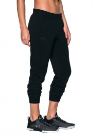 Pantaloni sport femei under armour ua tb sweatpants negru